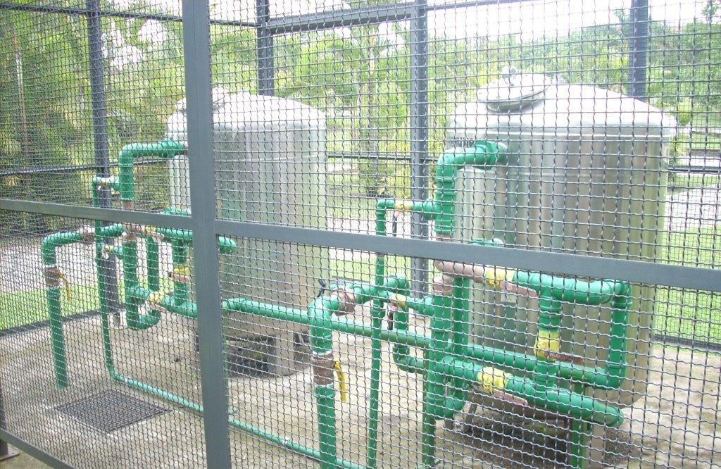 Empresa de tratamento de água de poço